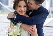 Marine Bay Sands Wedding by GrizzyPix Photography