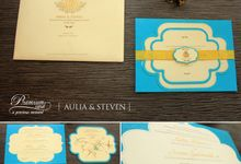 Aulia & Steven's Wedding Card by Premium Card