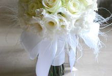 Wedding Bouquet by Hana Flower Boutique by Hana Flower Boutique