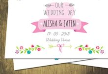 Printed Invitations by Let's Announce