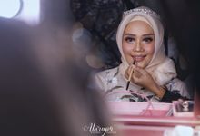 Poolside Wedding Party of Elvira & Irfan by Abirupa Wedding Planner