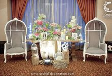 Life began in a garden by Orchid Florist and Decoration