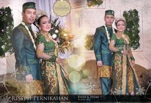 The Wedding Rindi dan Hilmi - Reseption by FotoimOet