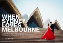 When Sydney Love Melbourne by Daddy Tjeuw Photo