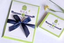 Hanavi by Hanavi Wedding Invitation