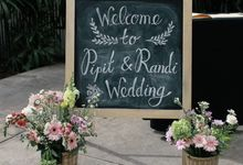 PIPIT & RANDY WEDDING by bright Event & Wedding Planner