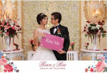 The Wedding of Rian And Ria by Moments To Go