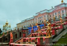 Wedding in the Peterhof and Konstantinovsky Palace by Grand Premier