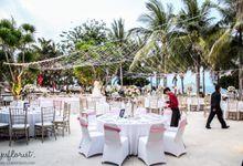 Wedding of Malvin & Priscilia by Bali Yes Florist