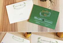 Amelia & Ali's Wedding Card by Premium Card