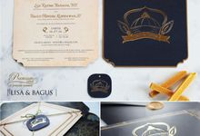 Lisa & Bagus Wedding Invitation by Premium Card
