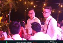 Derek and Gayles Wedding by Sound Solution Asia