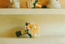 Wedding Meylani & Adam by Izatta Florist and Decorator Bali