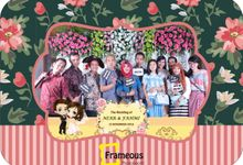 wedding of Niar & Fahmi by Frameous Photobooth