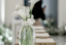 Simple Meets Elegant in This Dreamy Wedding Celebration by Elior Design