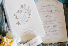 The Wedding of David Delvina by iWeddingOrganizer