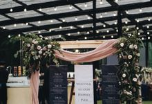 Rustic Wedding under Clear Tent for Andy & Winny by Elior Design