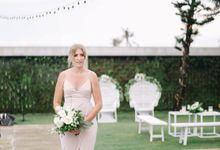 The Wedding Ceremony of Kristy & Brad by Villa Vedas