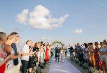Wedding of Liam and Mel by The Surga Villa Estate