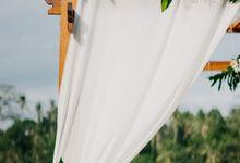Elopement Silas & Tanja at Jungle Ricefield  in Ubud by Amora Bali Weddings