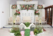 ANGEL DAN AJI - GED PUTIH by Kencana Mas Wedding & Event Organizer