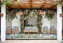 Intimate Wedding Fitri & Argi by Garis Decoration