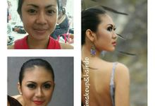 before after make up by Vivi Make Up & Hair Do