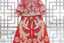 Romantic Whimsical wedding of Hendrian & Zhuoqun Li by Varawedding