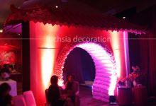 Oriental Wedding by Fuchsia Decoration