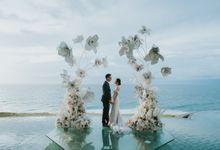 Sonny & Delicia Wedding Decoration by De Sketsa by KAMAYA BALI