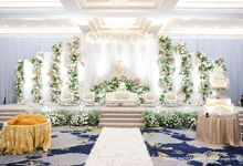 International Wedding Decoration of Fendy and Hana by  Menara Mandiri by IKK Wedding (ex. Plaza Bapindo)