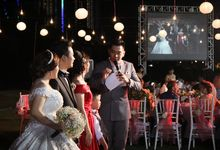 INDRA GRACIA WEDDING AT PENINSULA by Aldo Adela MC & Magician