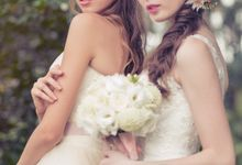 Bridal Bouquets and Floral Crowns by The Flower Palette