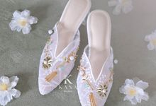 Greeny for Bridal Shoes by Kasa The Label