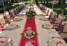 Wedding table decoration by Wedding City Antalya