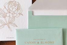 The Wedding of Elmore & Vanny by SentimeterCard