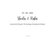 THE WEDDING OF SHEILA & RAKA by MAKNA PRODUCTION