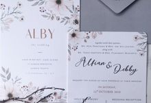 The Wedding of Alfian & Debby by SentimeterCard