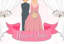 Undangan Digital Video Pernikahan Animasi by Undangan Pernikahanku