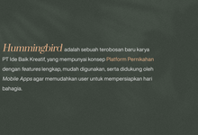 Apa Itu Hummingbird Indonesia ? by Hummingbird Indonesia