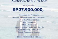 Valentine Promo by Michelle Bridal