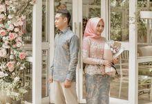 Nurul & Budi Engagement by Tsamara Resto