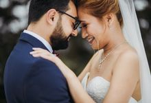 intimate wedding by wishbone mopic