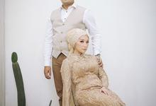 The Wedding of Hamzah and Melly by ixodia wedding organizer