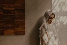 Aisyah & Aziz Wedding at Azila Villa by AKSA Creative