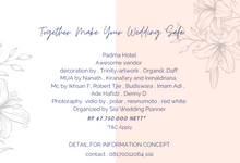 New Normal Package by Sisi Wedding Consultant