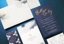Billy & Sally Wedding Invitation by Gracia The Invitation