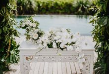 Wedding Styling at Arnalaya Beach House by baliVIP Wedding