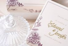 Wedding of Edward & Jennifer by Ellinorline Gift