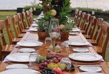 DINNER RECEPTION by AMANWANA